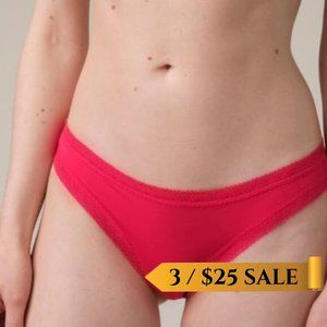 NWT BLUSH the micro thong in sunset - Size XL